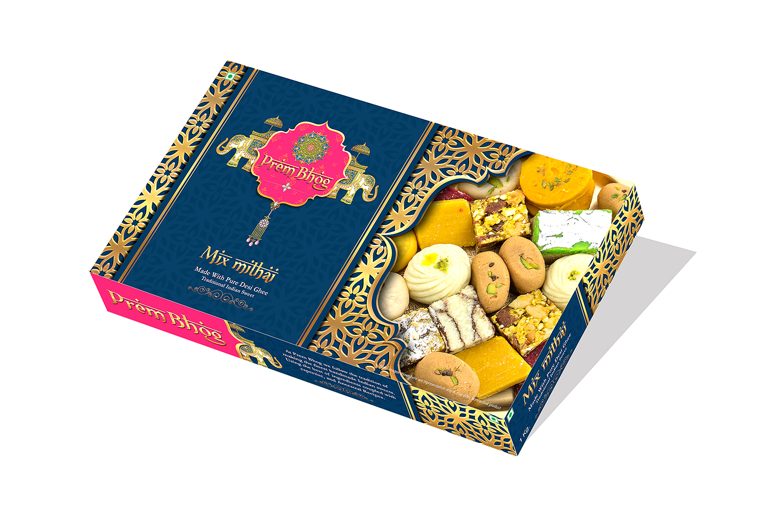 india-gate-packaging-mithai India gate box Design - camera-craft