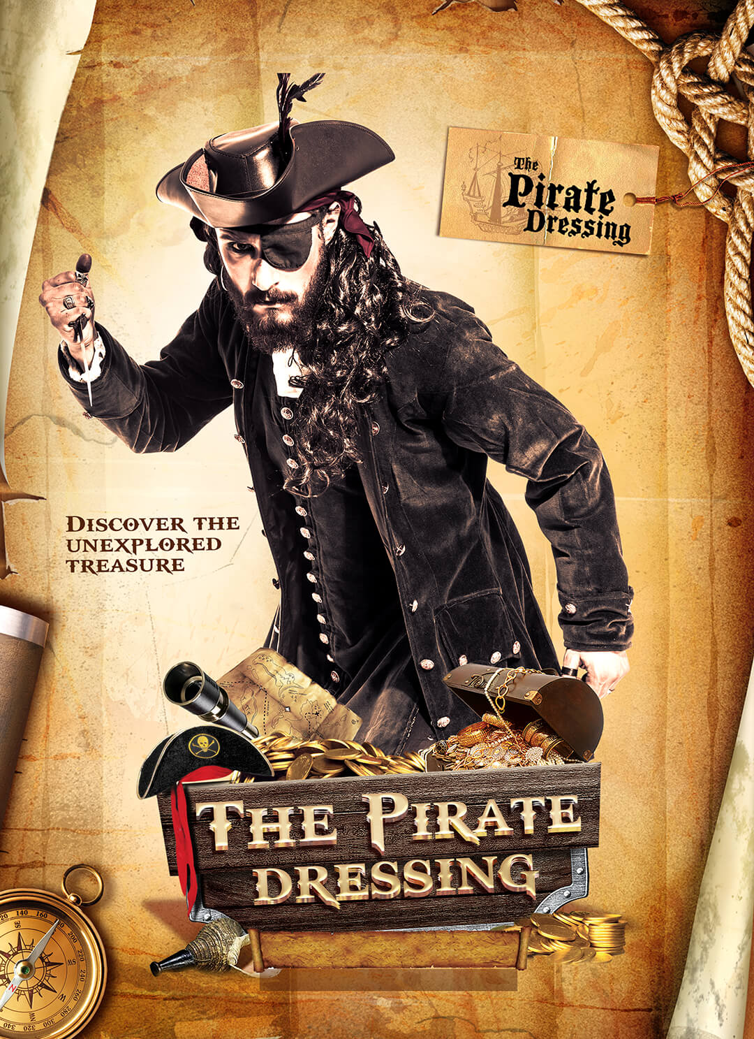 The Pirate Dressing Poster - camera-craft